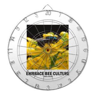 Embrace Bee Culture (Bee On Barberry Flower) Dart Board