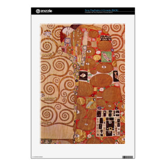 Embrace by Gustav Klimt Skins For PS3 Console