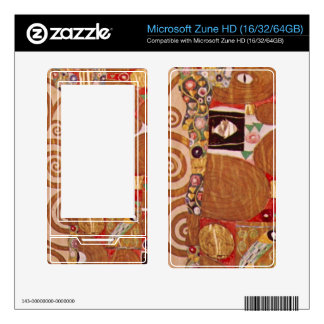 Embrace by Gustav Klimt Skins For Zune HD