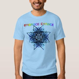 embrace chance tee shirt