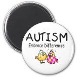Embrace Differences (2 chicks) Magnets