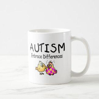 Embrace Differences (2 chicks) Mugs