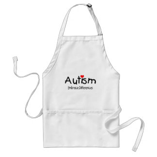 Embrace Differences (Happy Heart) Adult Apron