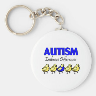 Embrace Differences Key Chains