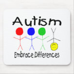 Embrace Differences (People) Mouse Mats