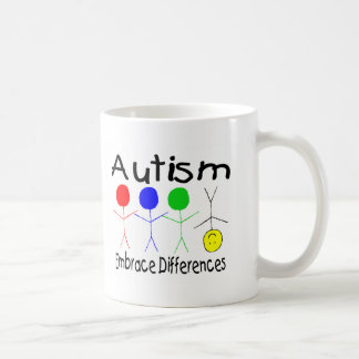Embrace Differences (People) Coffee Mugs