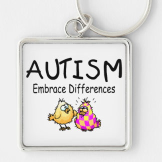 Embrace Differences (PY) Keychain