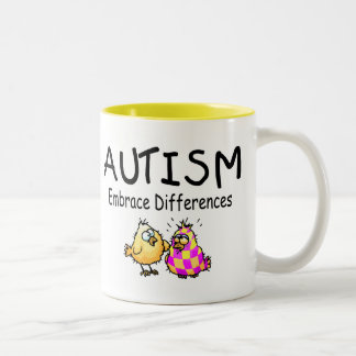 Embrace Differences (PY) Two-Tone Coffee Mug
