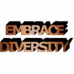 Embrace Diversity (Brown) Photo Sculpture