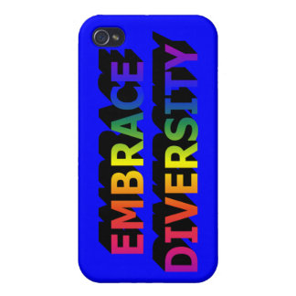 Embrace Diversity  iPhone 4 Covers