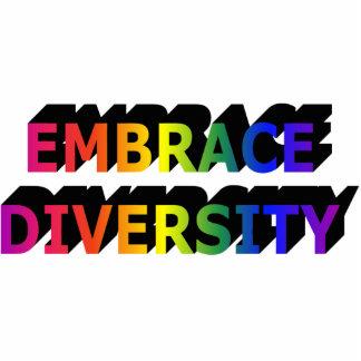 Embrace Diversity (Rainbow) Photo Sculpture