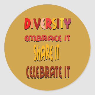 Embrace Diversity Sticker