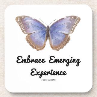 Embrace Emerging Experience (Morpho helenor) Coaster