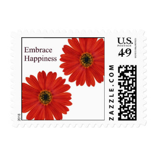 Embrace Happiness Daisies Stamps