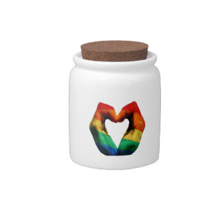 EMBRACE IT ALL CANDY JARS