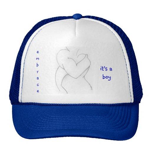 Embrace, It's A Boy Hat