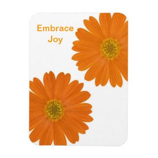 Embrace Joy Daisies Rectangular Photo Magnet