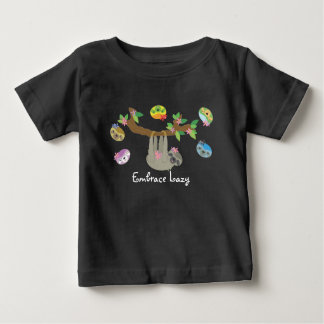 Embrace Lazy - Baby Casual Shirt (dark)