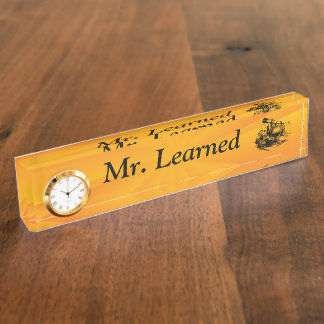 Embrace Learning Nameplate