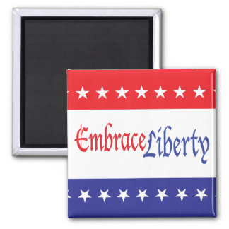 Embrace Liberty 2 Inch Square Magnet
