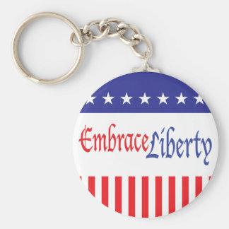Embrace Liberty Keychain