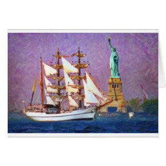 Embrace Liberty oil Card
