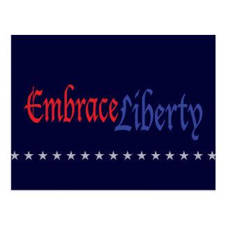 Embrace Liberty Postcard