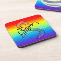 Embrace Love Drink Coaster