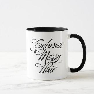 Embrace Messy Hair Mug
