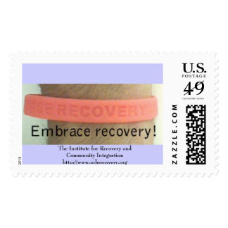 Embrace Recovery Postage Stamp