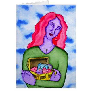 Embrace self-love by Rita Loyd Card
