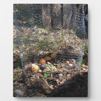 Embrace The Compost Pile Display Plaque