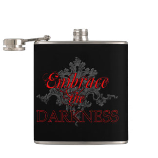 Embrace the Darkness Flask