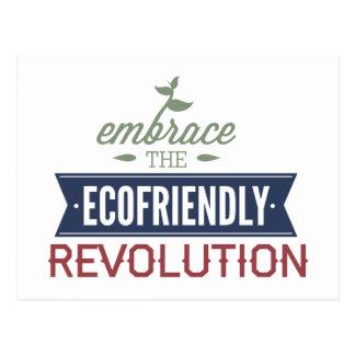 Embrace The Ecofriendly Revolution Postcard