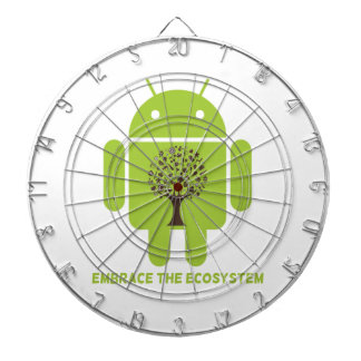 Embrace The Ecosystem Android Bug Droid Oak Tree Dartboards