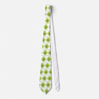 Embrace The Ecosystem (Bug Droid Brown Tree) Tie