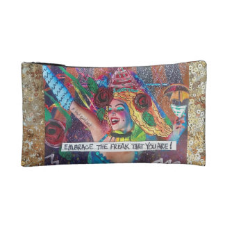 EMBRACE THE FREAK THAT YOU ARE. MAKEUP BAG