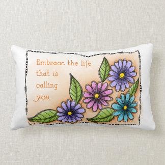 Embrace The Life Lumbar Pillow