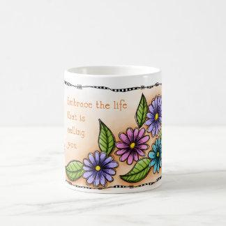 Embrace The Life Classic White Coffee Mug