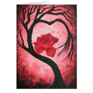 Embrace the love greeting card