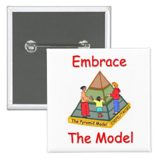 Embrace the Model Pinback Buttons