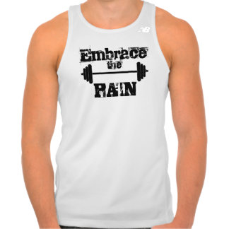 Embrace the Pain - Work Out Gym Tank Top