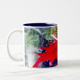 Embrace The Pleasures Two-Tone Coffee Mug