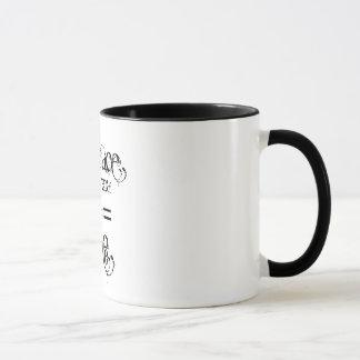 """Embrace the power of 2=3"" Mug"
