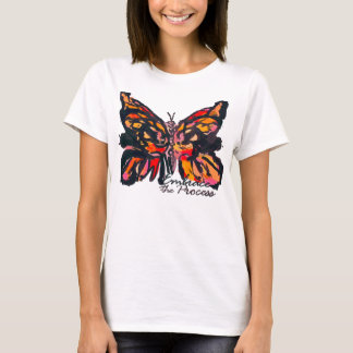 Embrace the Process Butterfly TShirt by Envibrance