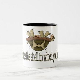 Embrace The Shell Two-Tone Coffee Mug