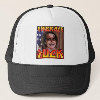 EMBRACE THE SUCK TRUCKER HAT
