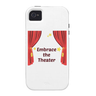 Embrace the Theater iPhone 4 Covers
