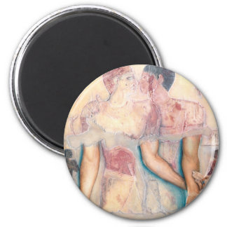 Embrace: www.AriesArtist.com 2 Inch Round Magnet