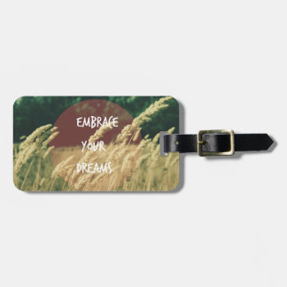 Embrace your Dreams Quote Tags For Bags